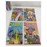 4 comics 1987-88 Transformers 1-2-3-4