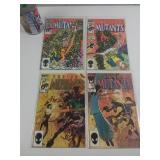 4 comics années 80 New Mutant 27-30-33-47