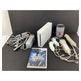 Console Wii, manettes, Jeu Michael Jackson
