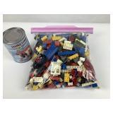 2 lbs de pièces Lego
