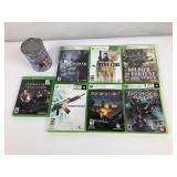 6 jeux XBOX, 1 XBOX One Resident Evil