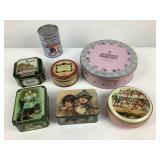 6 boîtes vintage dont Harrods