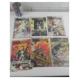 6 comics années 80 Stark Futur, 8-9-10-11-12-13