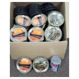 Collection de sous-verres Souvenir divers