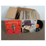 Boite de vinyles 33 tours/LP dont Lloyd Price