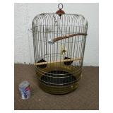Cage à oiseau vintage