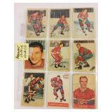Cartes de hockey/LNH PARKHURST 53-54 et 57-58