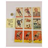 Cartes de hockey/LNH PARKHURST 53-54, 57-58 &