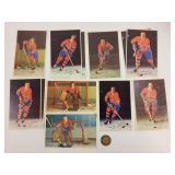 Cartes hockey autographiées/LNH Pro Star