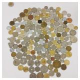 Collection de pièces de monnaie du monde