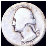 1932-D Washington Silver Quarter NICELY CIRCULATED