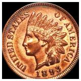 1893 Indian Head Penny UNCIRCULATED
