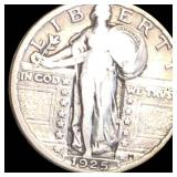 1925 Standing Liberty Quarter LIGHTLY CIRCULATED