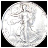 1947 Walking Half Dollar NEARLY UNCIRCULATED