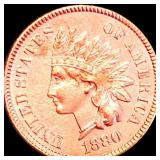 1880 Indian Head Penny UNCIRCULATED