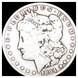 1894-O Morgan Silver Dollar NICELY CIRCULATED