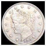 1883 Liberty Victory Nickel CLOSELY UNCIRCULATED