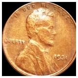 1931 Lincoln Wheat Penny LIGHTLY CIRCULATED