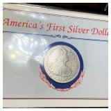 "1800 Silver 8 Reales ""America"