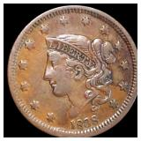 1838 Coronet Head Large Cent LIGHTLY CIRCULATED