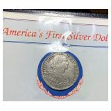 "1807 Silver 8 Reales ""America"