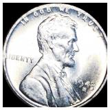 1943-S Lincoln Steel Wheat Penny UNCIRCULATED