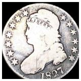 1827 Capped Bust Half Dollar NICELY CIRCULATED
