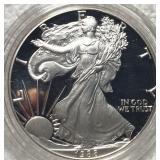1988-S Silver Eagle GEM PROOF