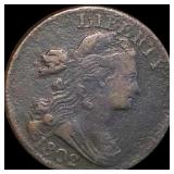 1802 Draped Bust Large Cent NICELY CIRCULATED