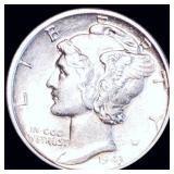 1943 Mercury Silver Dime UNCIRCULATED