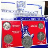 Liberty Coin Heritage Coin Set