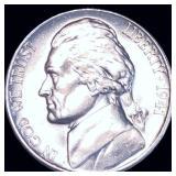 1941-D Jefferson Nickel FULL STEPS UNC