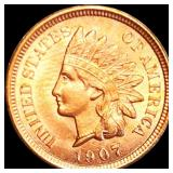 1907 Indian Head Penny UNCIRCULATED