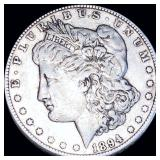 1894-O Morgan Silver Dollar LIGHTLY CIRCULATED