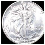 1943 Walking Half Dollar UNCIRCULATED
