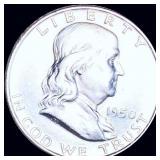 1950-D Franklin Half Dollar UNCIRCULATED