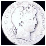 1896-O Barber Half Dollar NICELY CIRCULATED