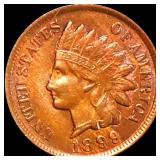 1899 Indian Head Penny NEARLY UNCIRCULATED