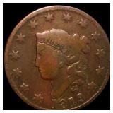 1819 Coronet Head Large Cent NICELY CIRCULATED