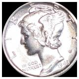 1943-S Mercury Silver Dime UNCIRCULATED