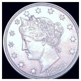 1883 Liberty Victory Nickel NEARLY UNCIRCULATED