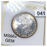 1881-S Morgan Silver Dollar GEM UNCIRCULATED