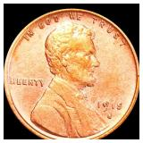 1915-S Lincoln Wheat Penny CLOSELY UNCIRCULATED