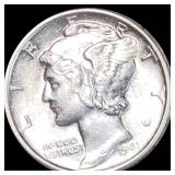 1941 Mercury Silver Dime UNCIRCULATED