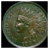 1898 Indian Head Penny CLOSELY UNC