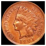 1901 Indian Head Penny NEARLY UNC