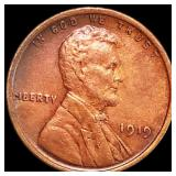 1919 Lincoln Wheat Penny CLOSELY UNC