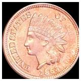 1863 Indian Head Penny UNCIRCULATED