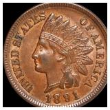 1891 Indian Head Penny CLOSELY UNCIRCULATED