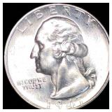1947-S Washington Silver Quarter UNCIRCULATED